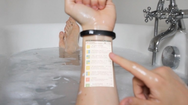 Cicret wristband-3
