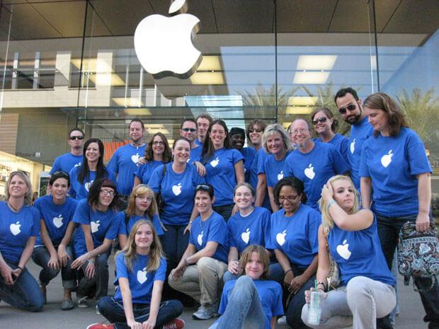 Apple เปิดรับสมัครพนักงานในไทย