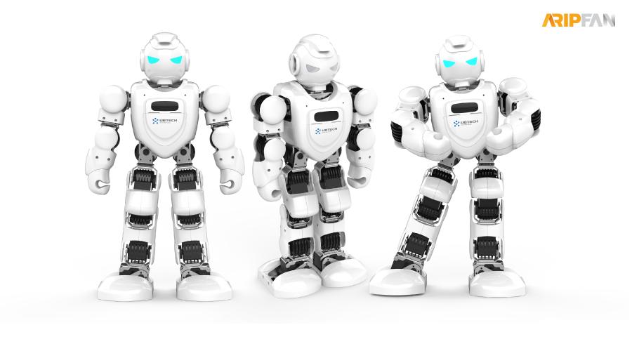 """หุ่นยนต์ ● """"Alpha 1E"""""""