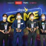 4 ทีมผู้ชนะการประกวดในโครงการ depa Game Accelerator Program