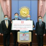 MG – Together For Better Thailand – Mask Donations – Ministry of Interior
