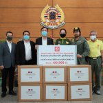 MG – Together For Better Thailand – Masks Donations – Ruamkatanyu Foundation