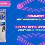 Shoplus live_Pepsi PH x Blackpink 01
