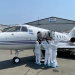 Air Rescue – Johannesburg base – COVID evacuation exercise with PMU 38