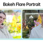 1-Bokeh Flare Portrait Video